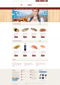 Адаптивный интернет-магазин заказа еды
